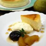 11月・スフレチーズケーキ ゆっくりじっくり時間をかけて湯せん焼き
