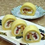 7月・スフレロール しっとりとしたスフレタイプのロールケーキを作ります。