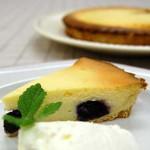 7月・タルトフロマージュ タルト型で作るベークドタイプのチーズケーキです