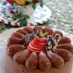 12月・チョコレートケーキ ふわふわスポンジとマイルドなガナッシュクリームの組み合わせ