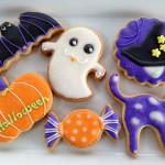 ハロウインのアイシングクッキー10月のリクエストレッスンです。みんなで楽しく作りましょ。