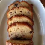 10月・マロンパウンド 手作りの渋皮煮を入れたリッチなパウンドケーキ。