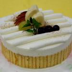 8月・ショコラバナーヌ ホワイトチョコとシートチョコと完熟バナナを使って