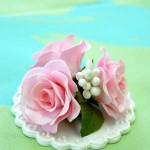 シュガーバラの花