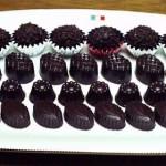 1月・チョコレートボンボン トリュフ、型抜きチョコレート等。テンパリングの方法等